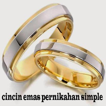 cincin emas pernikahan simple screenshot 5