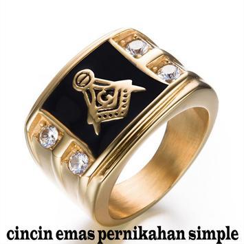 cincin emas pernikahan simple screenshot 9