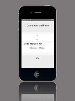 Calculador de Ritmo screenshot 4