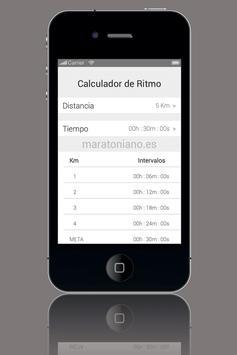 Calculador de Ritmo poster