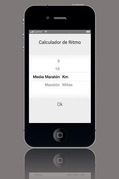 Calculador de Ritmo screenshot 1