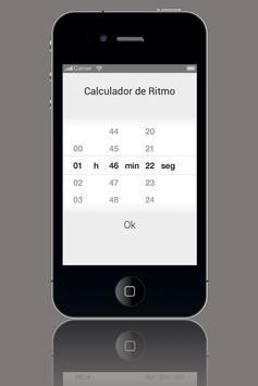 Calculador de Ritmo screenshot 2