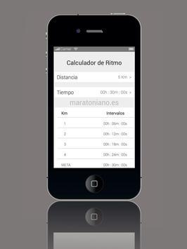 Calculador de Ritmo screenshot 3