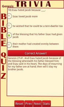 Trivia Bible Quiz poster