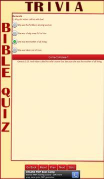 Trivia Bible Quiz apk screenshot