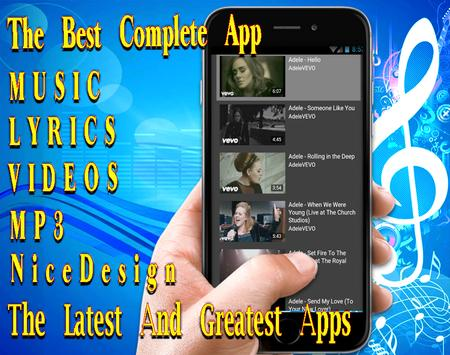 Adelle - 2018 - Hello - All Best Songs and Lyrics screenshot 5
