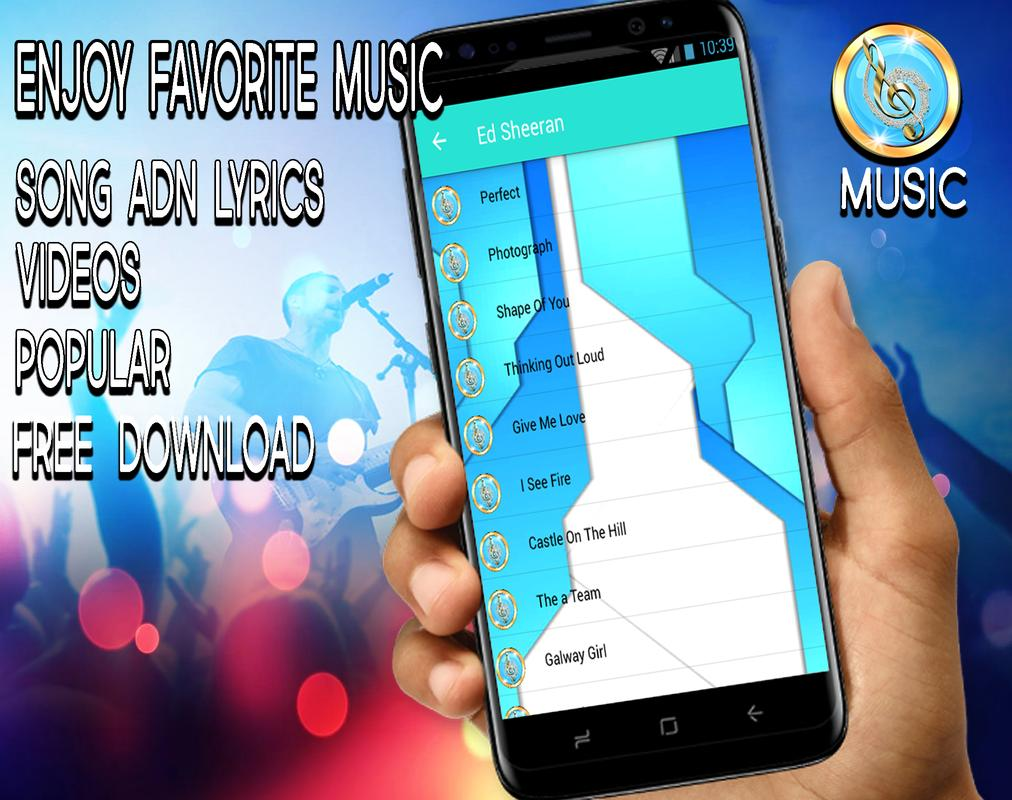 Ed Sheran Guitar Chords Songs And Lyrics Best For Android Apk
