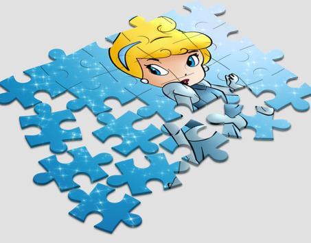 Cinderella Puzzle Kids screenshot 1