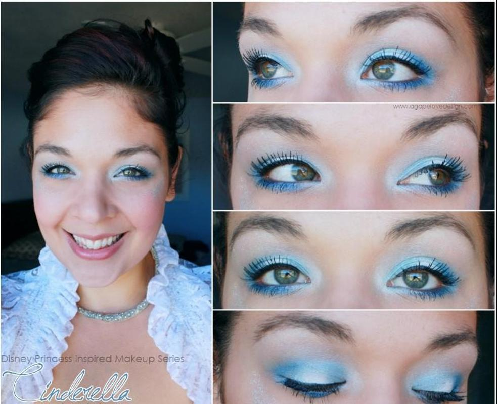 Cinderella Makeup Tutorial Poster
