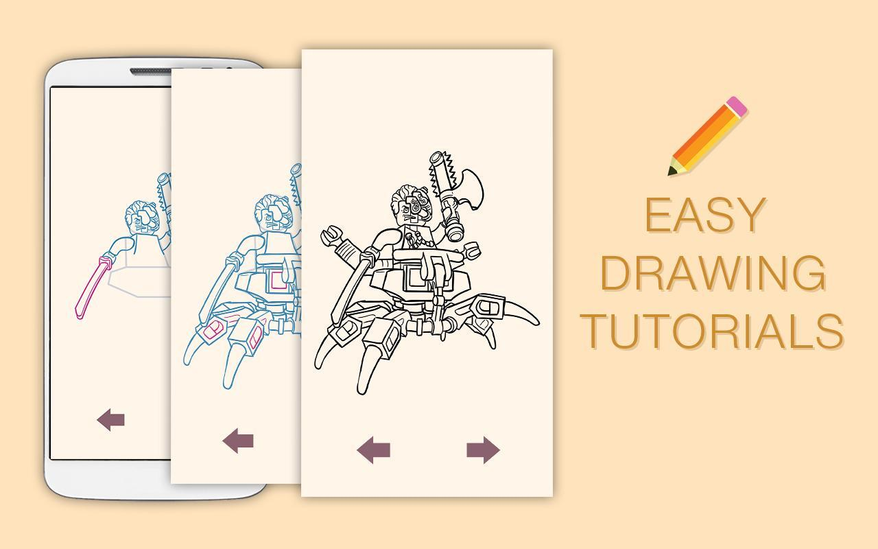 Desenhar Desenhos Lego Ninjago Para Android Apk Baixar