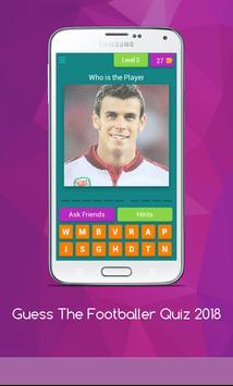 Guess The Footballer Quiz 2018 screenshot 7