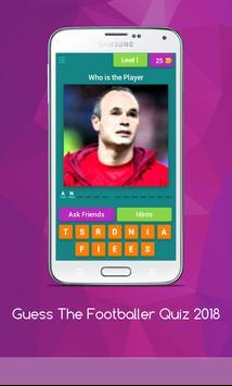 Guess The Footballer Quiz 2018 screenshot 4