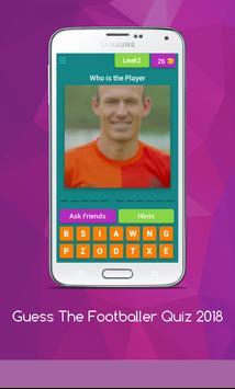 Guess The Footballer Quiz 2018 screenshot 6