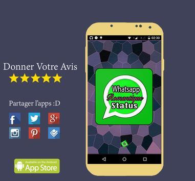 Romantique WhatsApp Status +5k poster