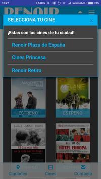 Cines Renoir screenshot 2