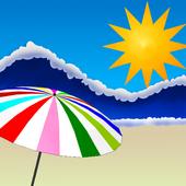 Summer Beach Live Wallpaper icon