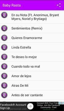 Baby Rasta New Musica apk screenshot