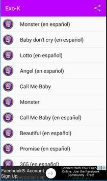 Exo - K y Letra Musica apk screenshot
