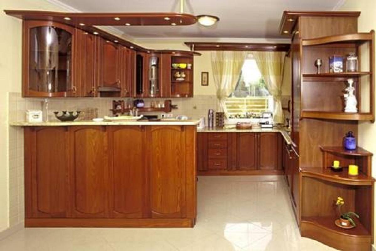 Kitchen set simple dan unik affiche
