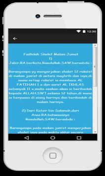 Fadilah Shalat Malam Jum'at screenshot 1