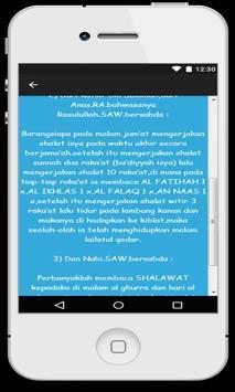 Fadilah Shalat Malam Jum'at screenshot 3