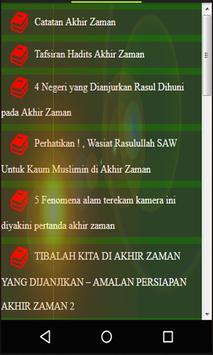Hadits Akhir Zaman screenshot 2