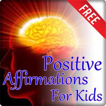Positive Affirmations For Kids poster