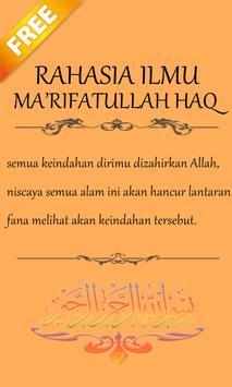 RAHASIA ILMU MA'RIFATULLAH HAQ apk screenshot