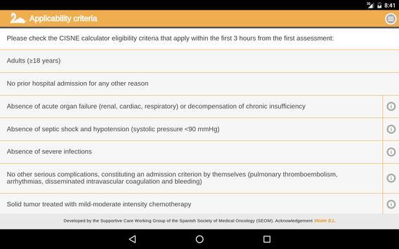 Official Cisne Calculator apk screenshot