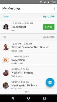 Cisco Webex Meetings スクリーンショット 5