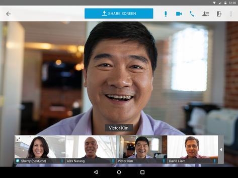 Cisco Webex Meetings スクリーンショット 6