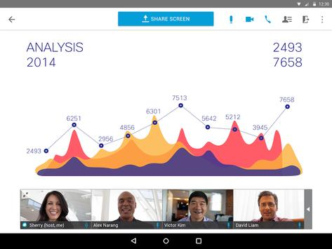 Cisco Webex Meetings スクリーンショット 7