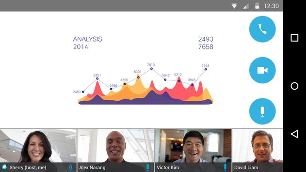 Cisco Webex Meetings スクリーンショット 1