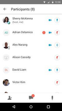 Cisco Webex Meetings スクリーンショット 2