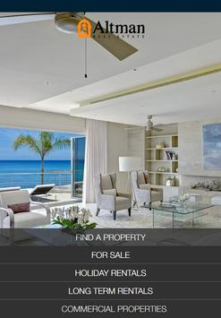 Altman Barbados Real Estate poster