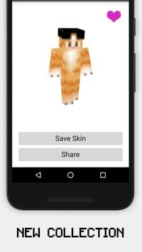 HD Cat Skins for Minecraft PE screenshot 1
