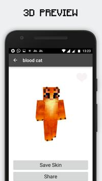 HD Cat Skins for Minecraft PE screenshot 2