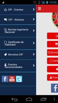 CIP Móvil apk screenshot