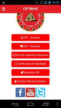 CIP Móvil screenshot 2