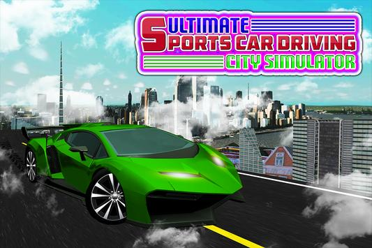Ultimate Sports Car Driving City Simulator screenshot 9