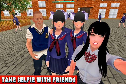 High School Girl Life Simulator screenshot 13