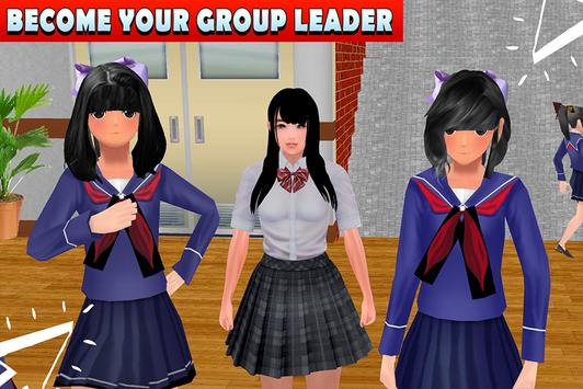 High School Girl Life Simulator screenshot 2