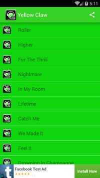 DJ Yellow Claw apk screenshot