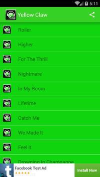 Dj yellow claw apk download free music audio app for android dj yellow claw poster dj yellow claw apk screenshot stopboris Gallery