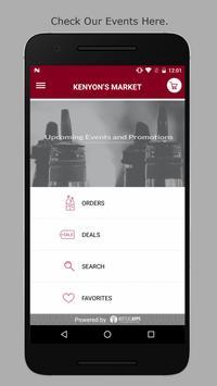 Kenyon's Market apk screenshot