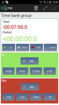 Personal Time Bank screenshot 3