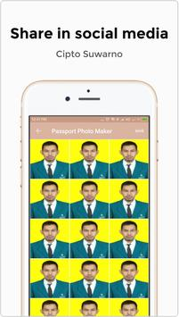 Passport Size Photo Maker screenshot 3