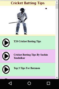 Cricket Batting Guide screenshot 2