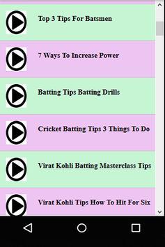 Cricket Batting Guide screenshot 3