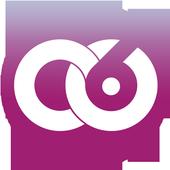 Circle of 6 icon